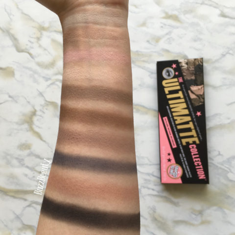 Soap & Glory The Ultimatte Collection Palette swatches