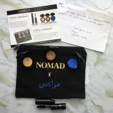 Nomad Cosmetics Marrakesh Collection