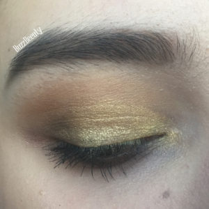 Golden Mosque eyeshadow Nomad