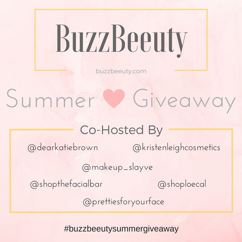 Buzz Beeuty Summer Giveaway