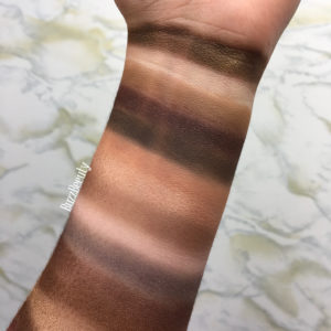 Too Faced Chocolate Bar palette swatches and review