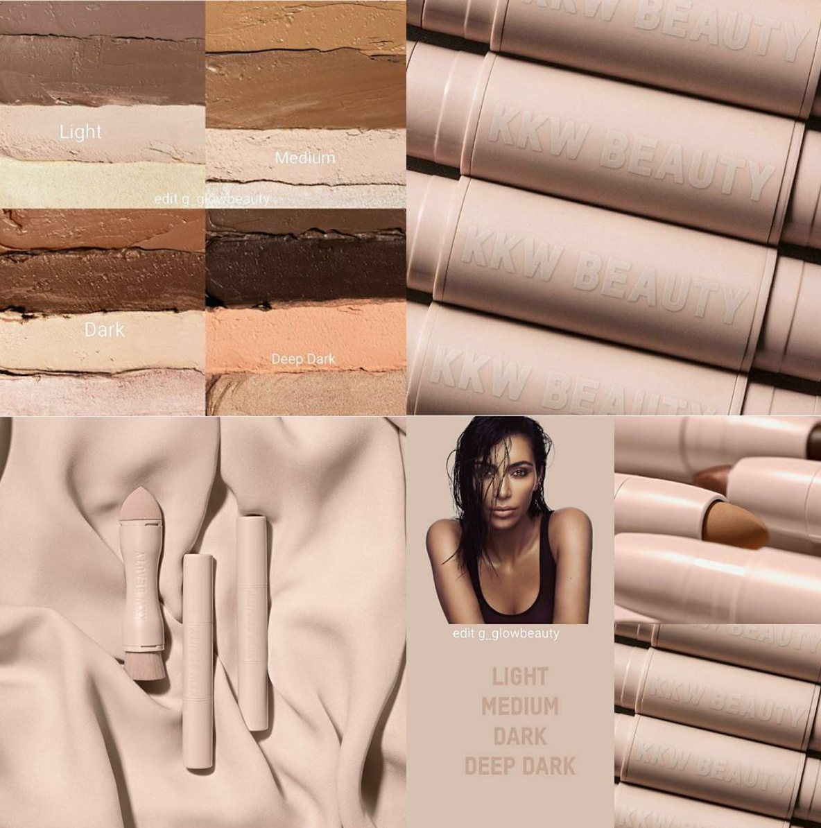 KKW Beauty Contour and Highlight Kit