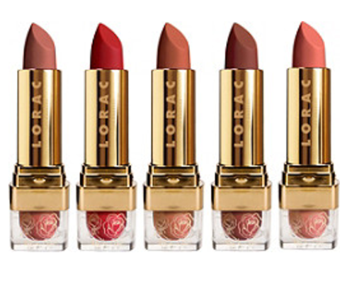 Lorac Disney Beauty and the Beast Lipstick Collection