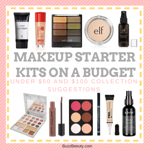 Makeup Starter Kits On a Budget - Under $50 and $100 Collection Suggestions