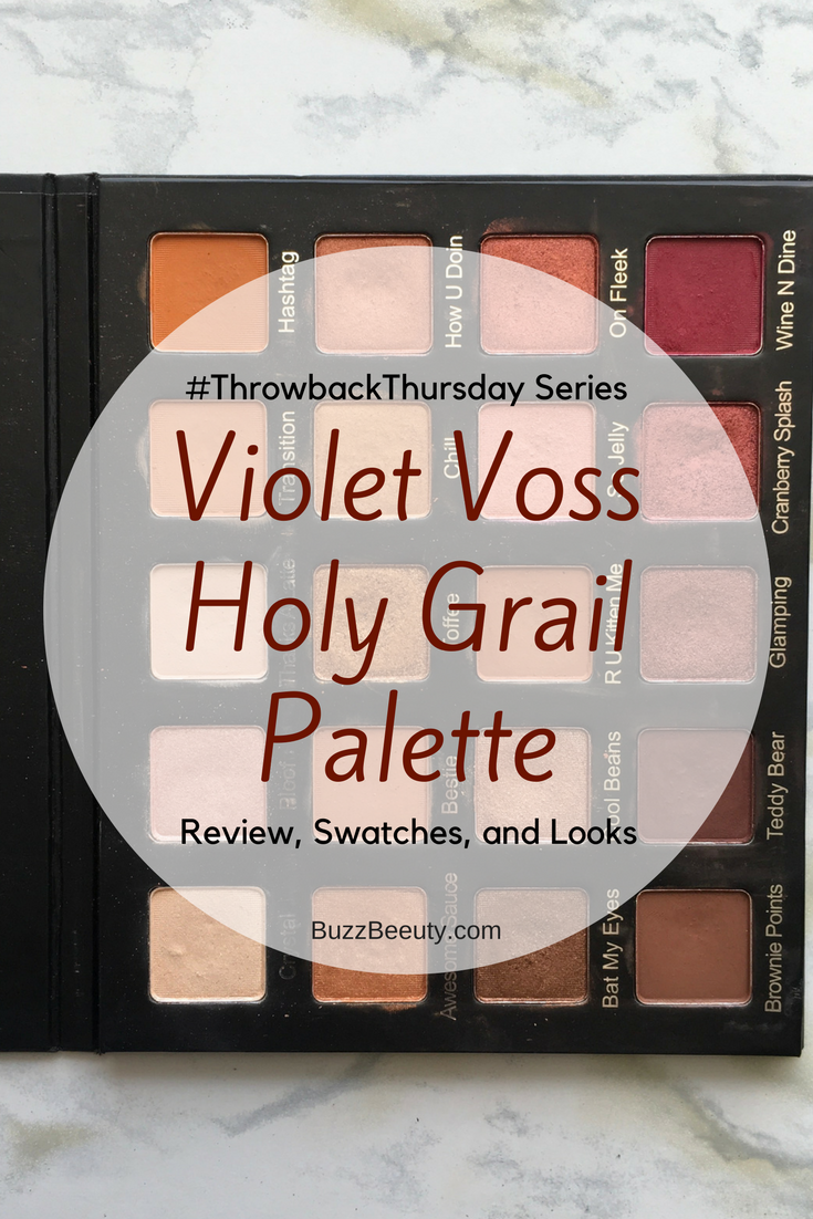 Violet Voss Holy Grail Palette - Review, Swatches, and Eye Looks