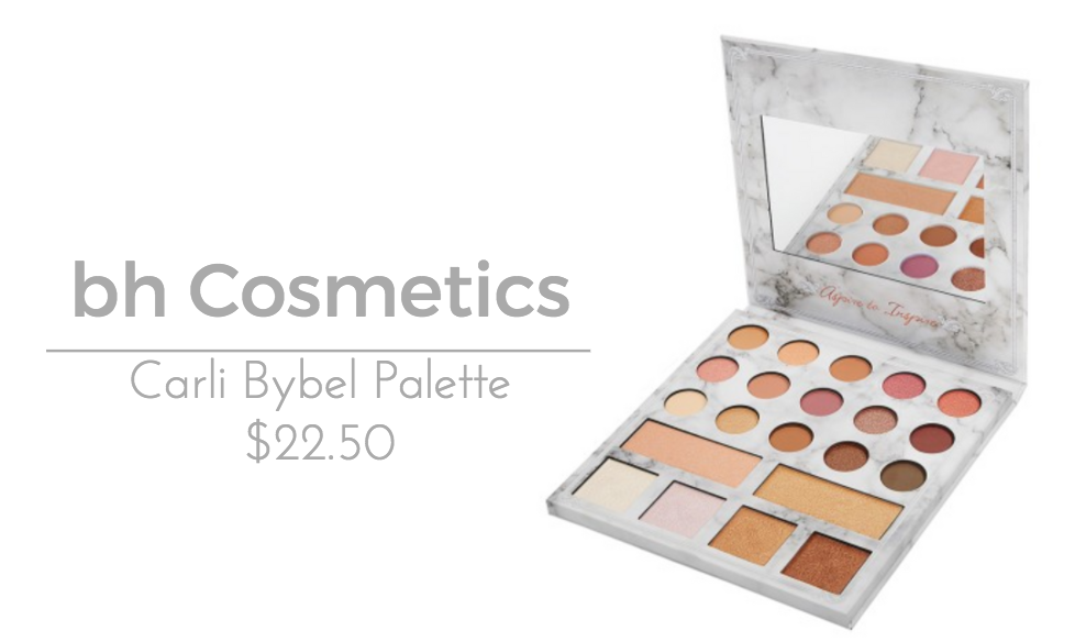 bh Cosmetics Carli Bybel Deluxe Palette