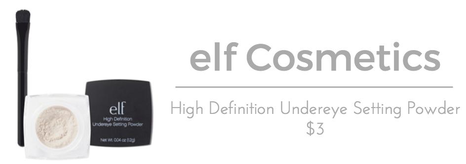 elf Cosmetics High Definition Undereye Setting Powder