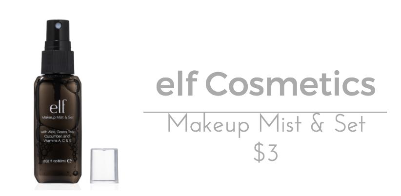 elf Cosmetics Makeup Mist & Set