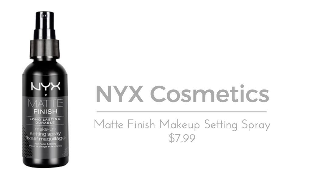 NYX Cosmetics Finish Makeup Setting Spray