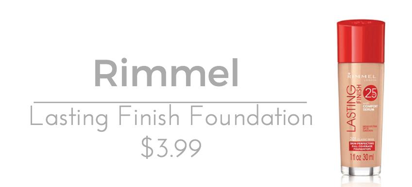 Rimmel Lasting Finish Foundation