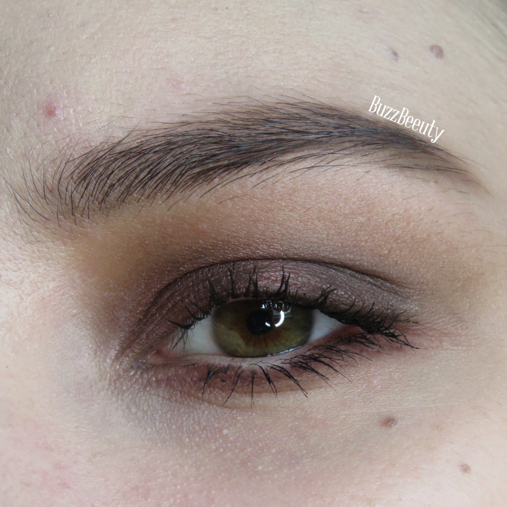 Too Faced Chocolate Bar Palette simple and easy burgundy red smokey eye look