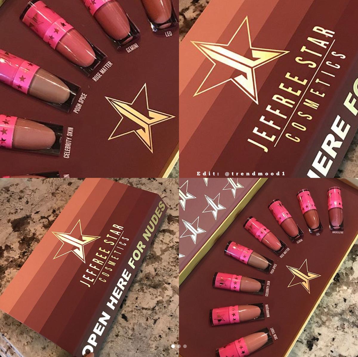 BuzzBeeuty - Jeffree Star Cosmetics Velour Liquid Lipstick Mini Set Nude