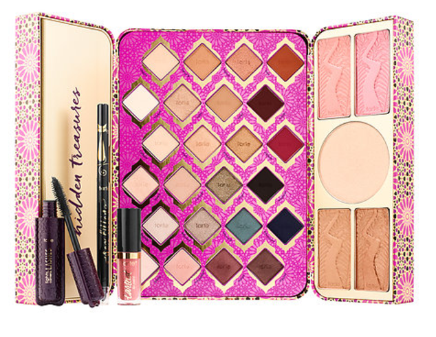 Tarte Cosmetics Limited-Edition Treasure Box Collector's Set Holiday 2017