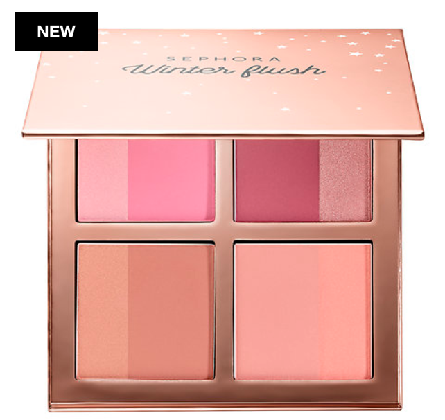 Sephora Collection Winter Flush Blush Palette holidays 2017
