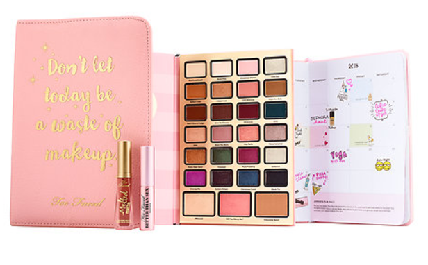 TOO FACED Boss Lady Beauty Agenda holidays 2017 collection