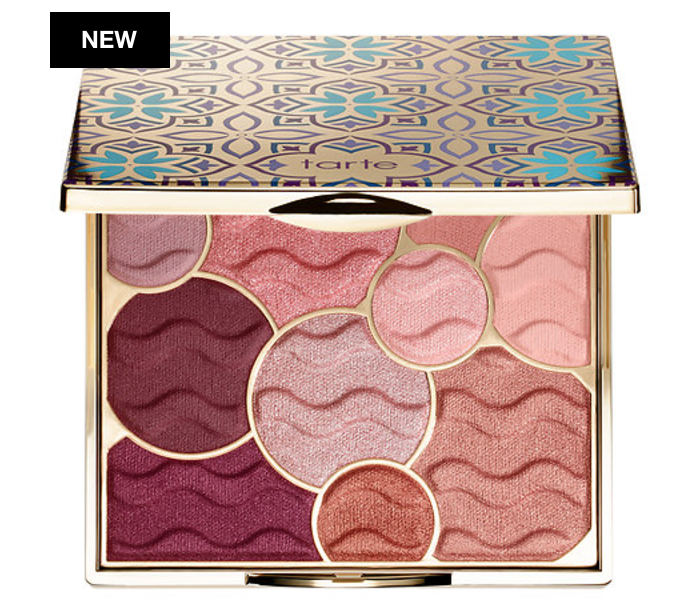 Tarte Cosmetics Limited Edition Buried Treasure Eyeshadow Palette Holidays 2017 Collection
