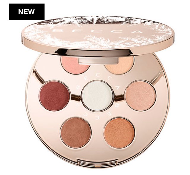 Becca Cosmetics Après Ski Glow Collection: Eye Lights Palette Holidays 201