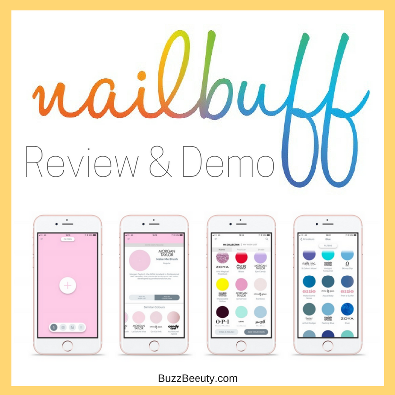 Nailbuff App Review and Demo Buzz Beeuty
