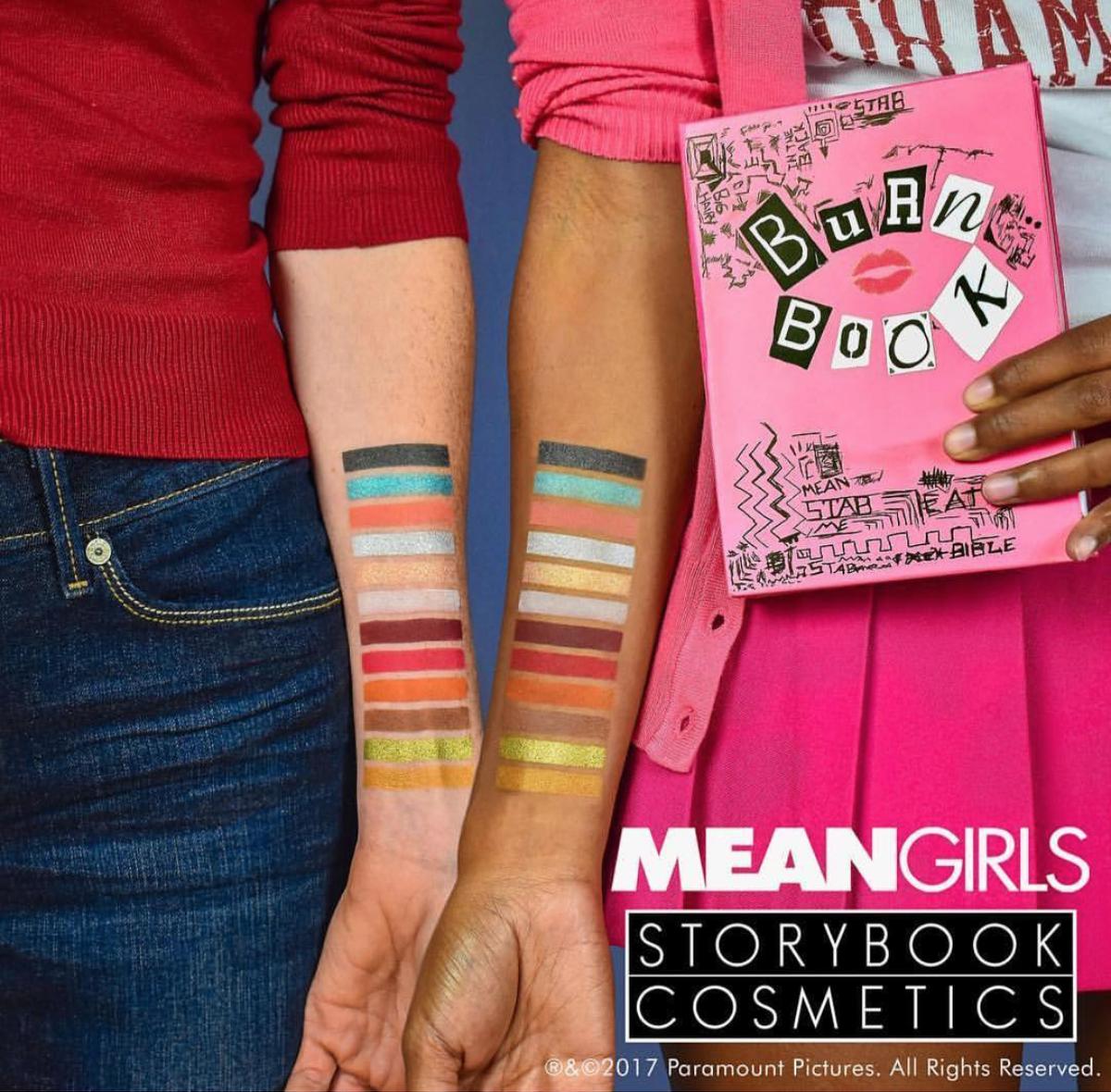 Storybook Cosmetica Mean Girls Burn Book Eyeshadow Palette