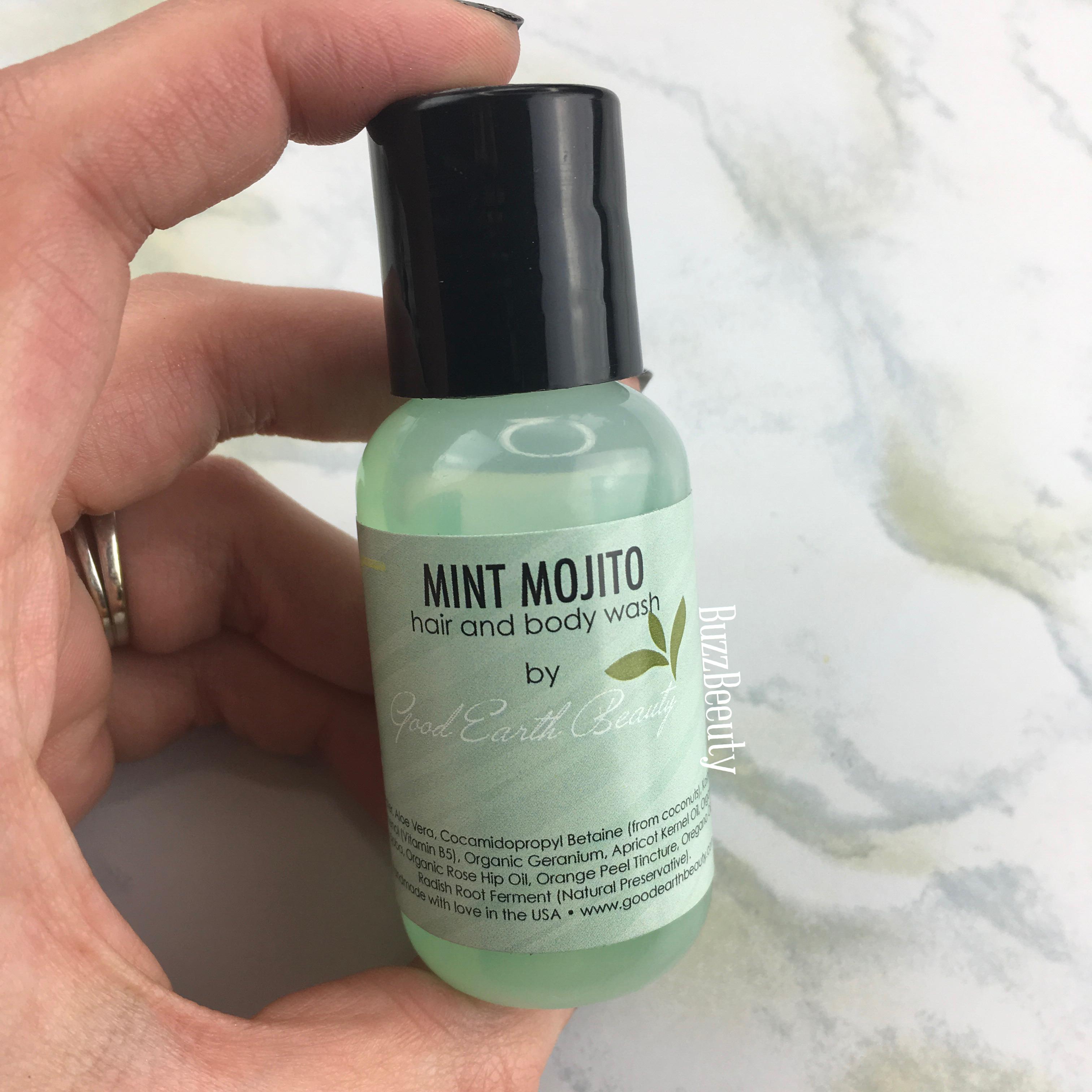 Good Earth Beauty Mint Mojito Shampoo and Body Wash