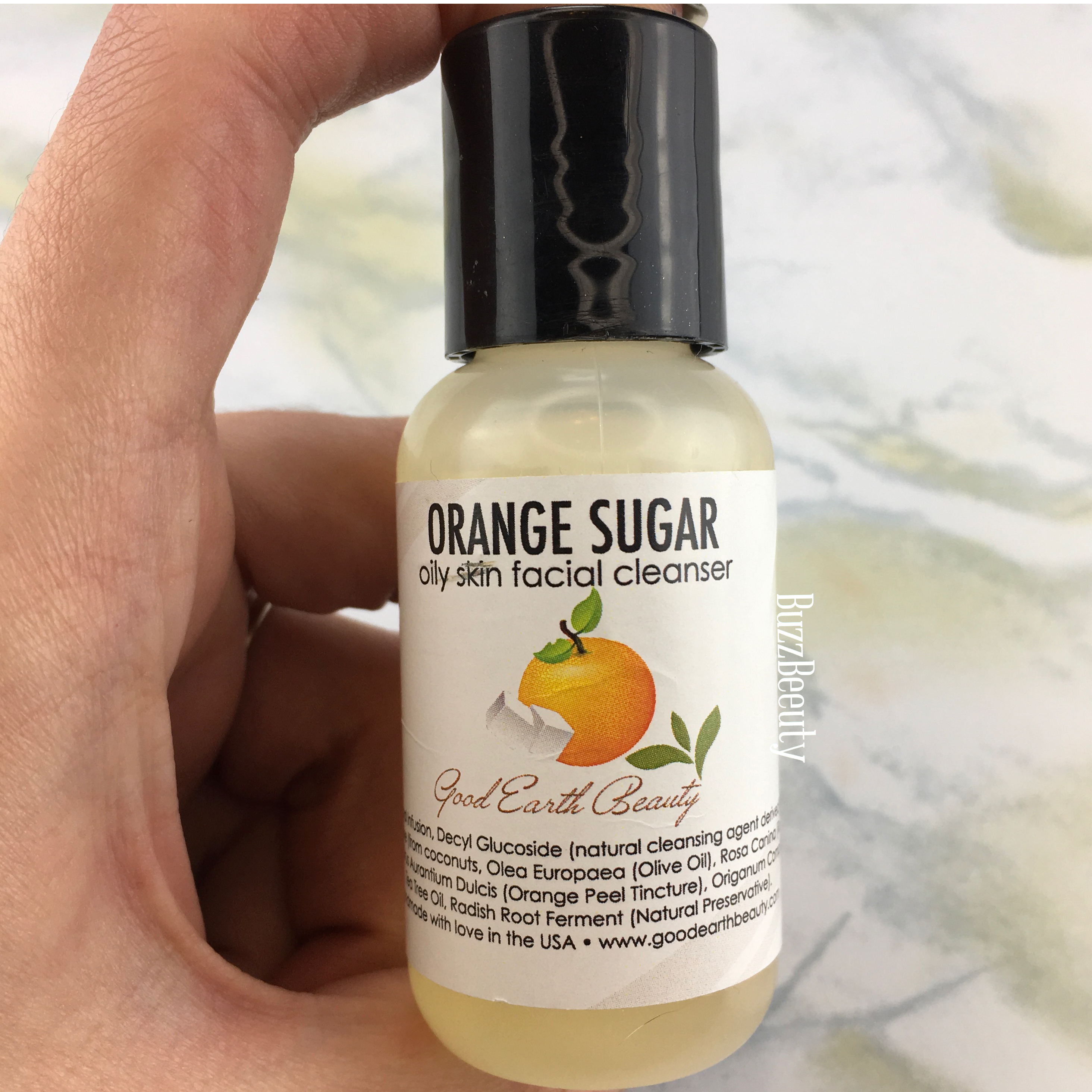 Good Earth Beauty Orange Sugar Oily Skin Facial Cleanser
