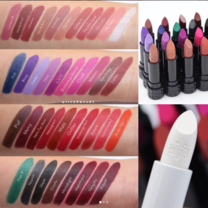 Kat Von D Beauty Studded Kiss Lipstick Creme Swatches, Review and Release Date